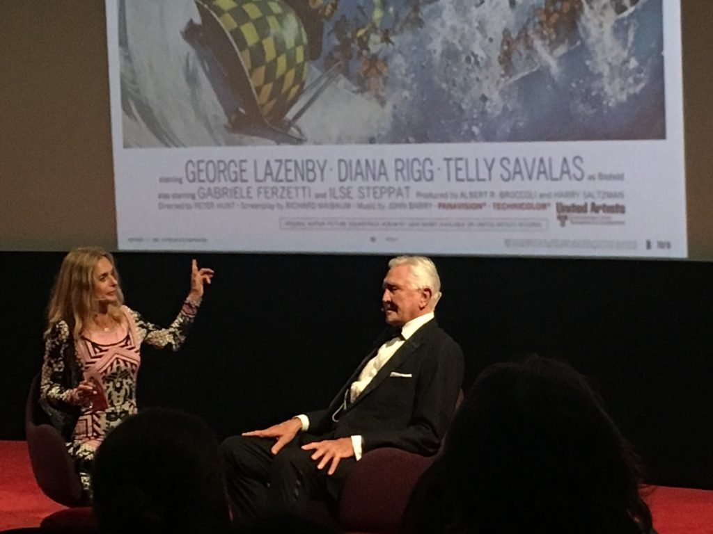 Maryam D'Abo Interviews George Lazenby