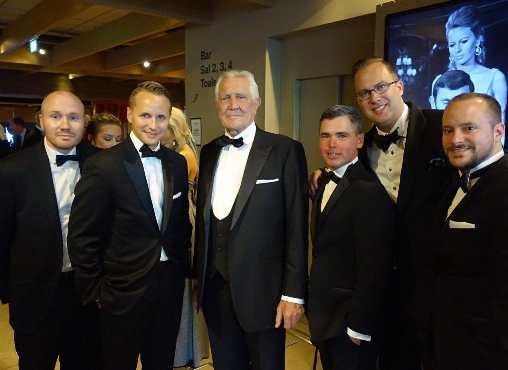 George Lazenby w/ Jeff & Friends